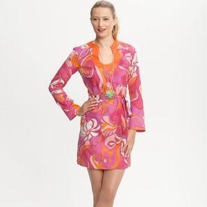 Banana Republic Trina Turk Collection Swirl Dress